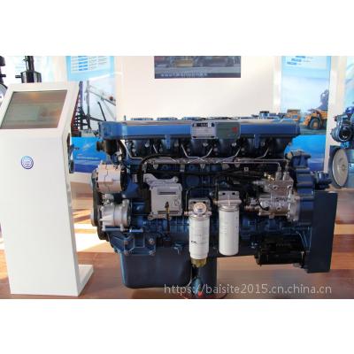 潍柴WP13.530E30发动机 中联汽车起重机用390KW柴油机