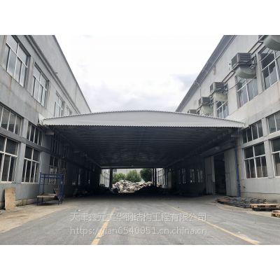 移动 帐篷伸缩 雨棚天津市北城区 推拉雨棚