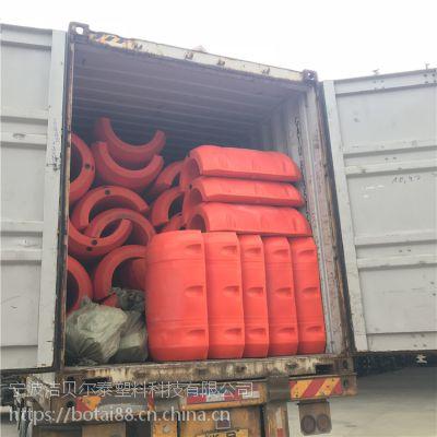 水上塑料浮体排泥聚乙烯浮筒品牌