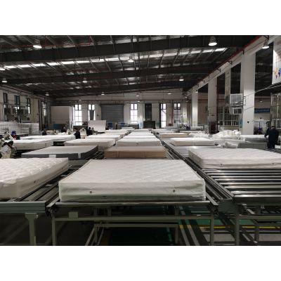 床垫生产线 席梦思乳胶床垫弹簧床垫流水线