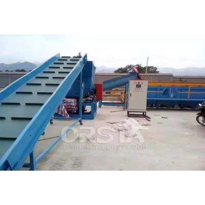 尼龙布料处理生产线环保破碎清洗造粒设备 柯达机械