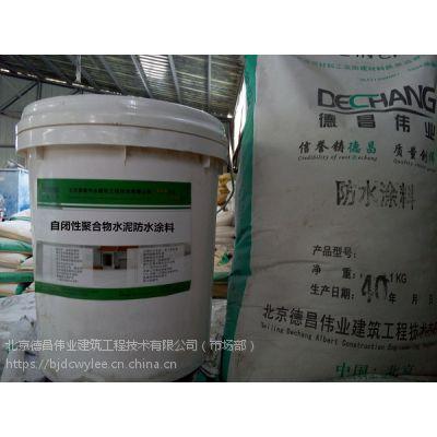 自闭性聚合物水泥防水涂料 高聚物外墙防水材料