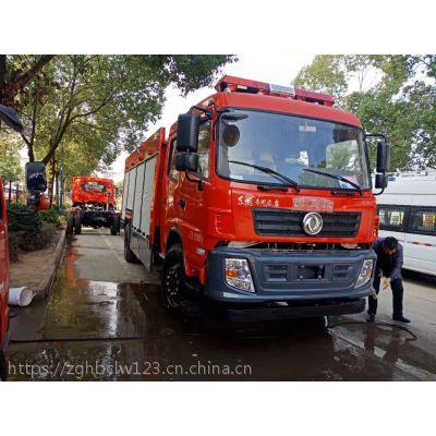 东风6方森林水罐消防车厂家价格