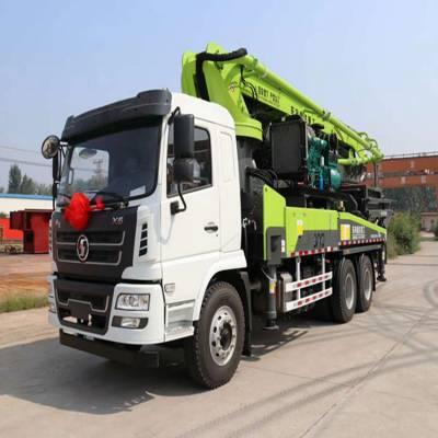 后双桥泵车33米-37米小型混凝土泵车 1.6L搅拌泵车价格 全国支持分期付款