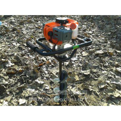 更实用型雷力手提地钻挖坑机种树利器