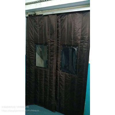 大城朗利洁厂家定做安装冬季加厚(皮革帆布)棉门帘