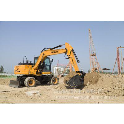 轮挖——HT135W轮式挖掘机,恒特重工