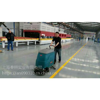 洗地机生产公司物业保洁高铁医院用威德尔手推式洗地机