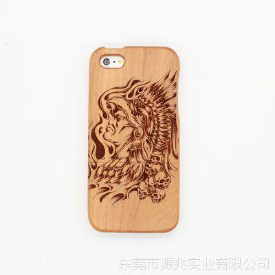 厂家生产ip5 竹木外壳 木质手机保护套 个性创意定制手机壳批发