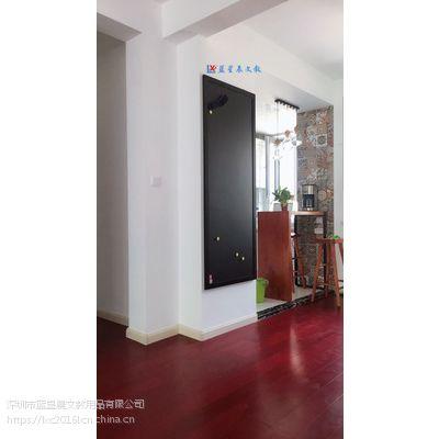 广州单面挂式磁性黑板1