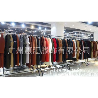 当季新款双面绒大衣高端时尚大牌广州品牌折扣女装尾货分份
