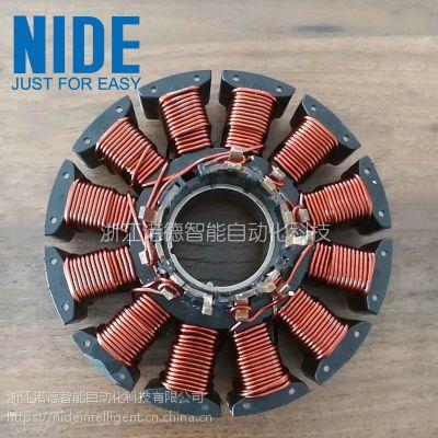 诺德无刷直流电机外转子绕线机 离心鼓风机马达定子绕线设备