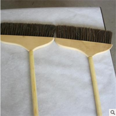 100%纯毛木杆扫把