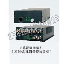 中西(LQS现货)8路视频光端机 型号:WH69-WTOS-VT-T/R800D库号:M142988