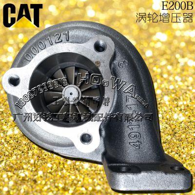 卡特E200B钩机涡轮增压器_卡特200B增压器
