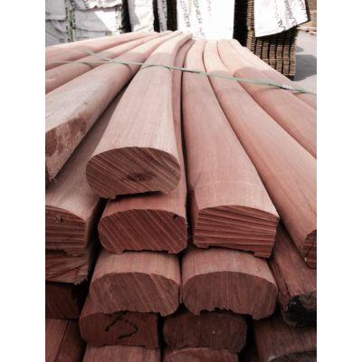 河北南美菠萝格古建木方厂家 可定制尺寸