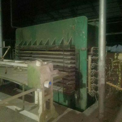 出售临沂盛阳产四八尺10层二手压板机 木工压机