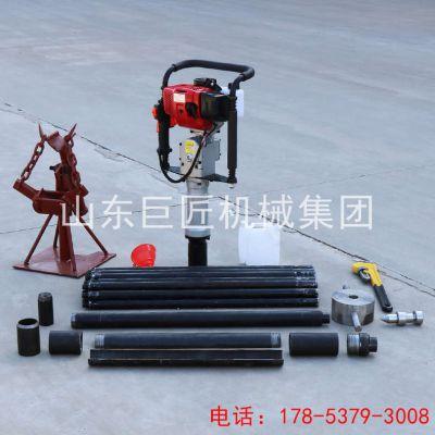巨匠浅层取样钻机 QTZ-2便携式取土钻机施工效率高