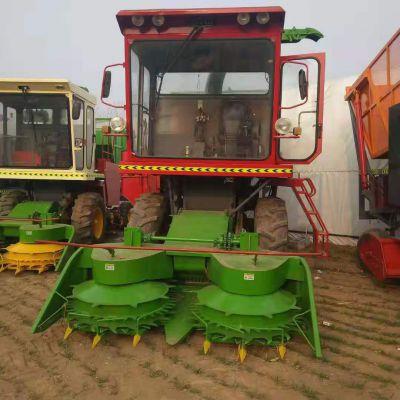供应大型玉米秸秆高速转盘式青储机 草原 山地 养殖场专用青贮机