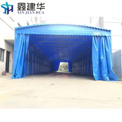 阜平县带围挡防雨帐篷定做_布工厂临时配货仓储雨棚价格
