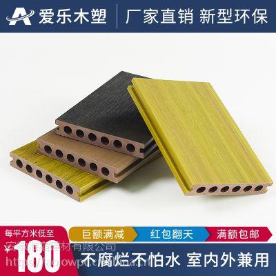 木塑共挤地板长条防腐防水生态环保塑木户外工程阳台庭院露台花园