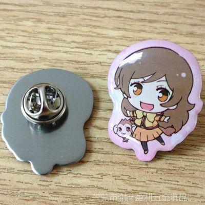 日本卡通胸针胸花徽章动漫周边产品 东莞厂家定做订制制作