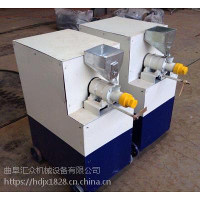 沧州金鱼养殖饲料膨化机 膨化机哪里有卖耐磨程度高