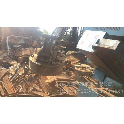 鳄鱼剪切机和虎头剪切机区别山东思路供应链板输送带 废钢二手鳄鱼式切断机价格