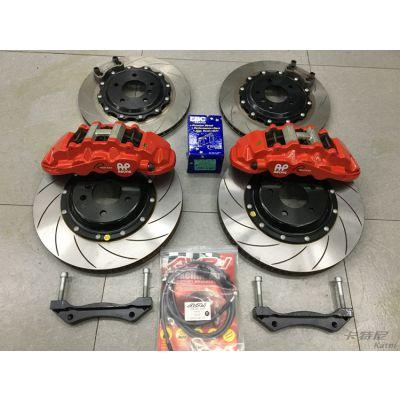 成都宝马525改装AP8520六活塞刹车套件后轮355加大碟