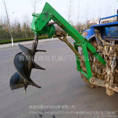 单头悬挂式地钻挖坑机设备 直径加工定制