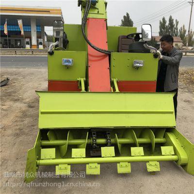 柴油刮板式拾粪机 羊圈行走式清粪车 动物粪便液压清运车