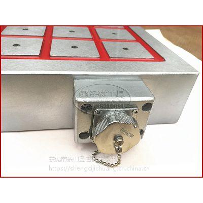 cnc电控永磁吸盘强力电磁盘加工中心电控吸盘电永磁磁盘