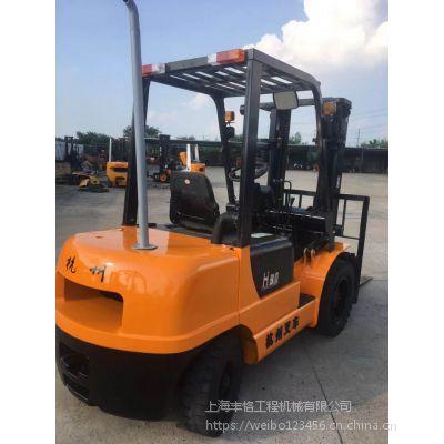 保质二手叉车,杭州3吨柴油叉车,标准门架 保修一年,实地看货