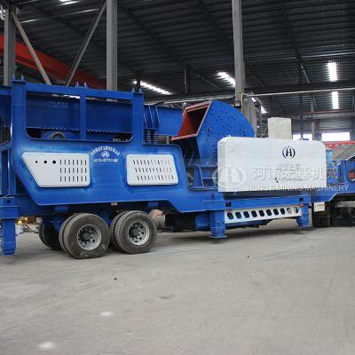 移动式环保建筑垃圾破碎机多少钱,哪家效果好