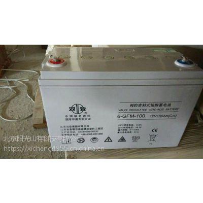 特价Shoto双登蓄电池12V100AH原厂质保