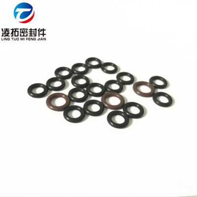 现货供应线径1.8氟胶O型圈耐高温耐药品耐溶剂氟素橡胶O形密封圈