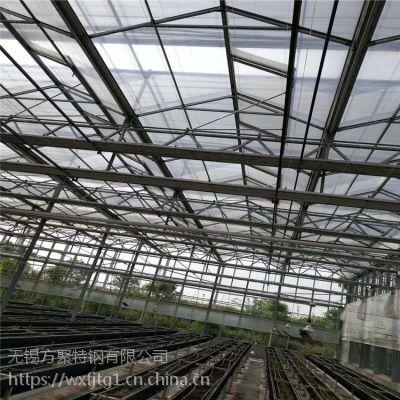 陕西厂家供应温室热镀锌大棚管1寸农业蔬菜大棚管