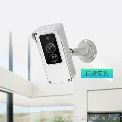 wifi网络手机远程监控电池摄像机  家用室外防水摄像头超长待机