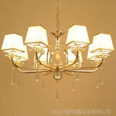 【中国风新款特价】中式卧室灯锌合金吊灯饰北京灯饰厂家