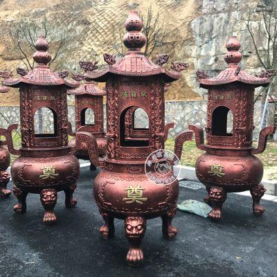 温州禅相法器专业设计铸造殡仪馆生铁烧纸炉价格