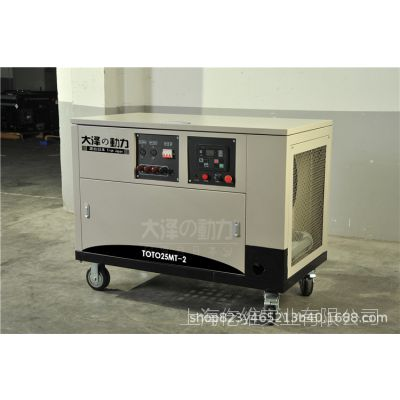 【20kw汽油发电机】大泽动力TOTO20