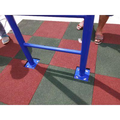 给力体育环保儿童游乐场防撞地胶江门健身房室内塑胶安装