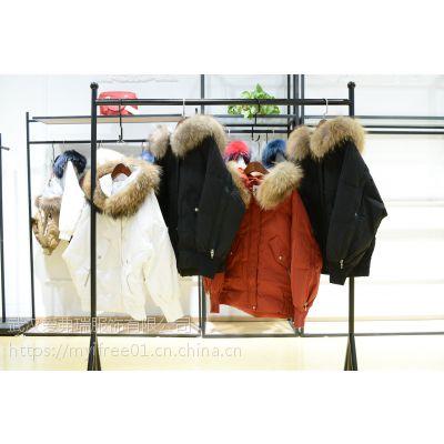 女性服装货源【现货】城市俪人加肥加大羽绒服女款