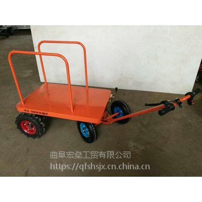 铁路建设物料搬运车厂家批发大功率瓷砖电动平板车