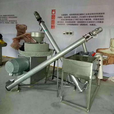 现林荞麦石磨面粉机100型 杂粮磨子 芝麻酱香油电动石磨机