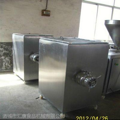 汇康机械冻肉绞肉机 不锈钢绞肉机特点: