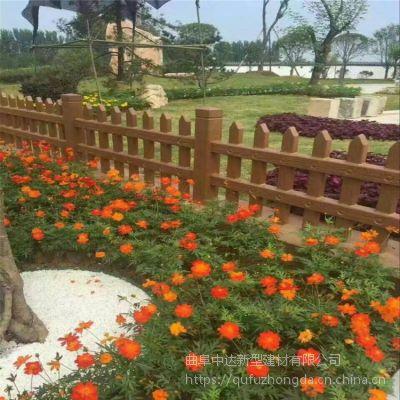 仿木树皮栏杆 水泥仿木围栏 仿木树桩石护拦 南京市厂家大量出售