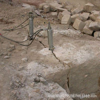 液压开采劈裂机 机载式岩石劈裂机 矿山岩石分裂机