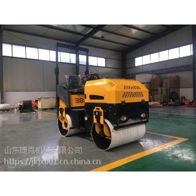 贵阳市2吨型座驾式压路机采用进口发动机 全液压驱动压路机效果就是好