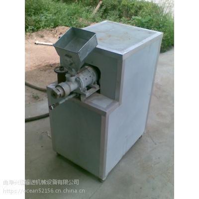 蚌埠多功能小型膨化机 浮水料饲料膨化机效率高